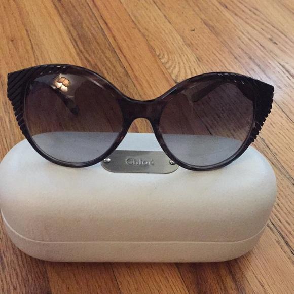 3fce6957e65f Chloe Accessories - Chloe Cat Eye Sunglasses - Beautiful excellent